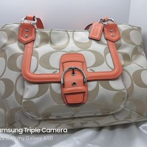 Coach Campbell signature carryall